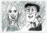 Family Caricature by bfrank, illustrations gallery