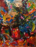 Vase on table with Flowers by blithe16, abstract gallery