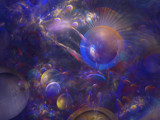 Cosmic Chaos by EmilyH, Abstract->Fractal gallery