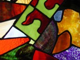 Stain Glass Panel 9-14-2003 by jojomercury, Photography->Architecture gallery