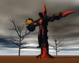 Crucifixion by PuMa, computer->3d gallery