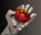 forbidden fruit by Tochi, illustrations->digital gallery