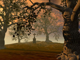 Alone at Sunset by WENPEDER, Computer->Landscape gallery