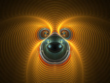 Cross Eyed Critter by razorjack51, Abstract->Fractal gallery
