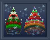 Two Apo Christmas Trees by Frankief, Holidays->Christmas gallery