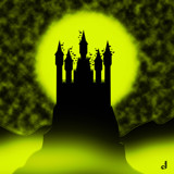 Mount Dracula by Jhihmoac, illustrations->digital gallery