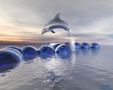 A Dolphins Freedom by MrXwild, Computer->3D gallery