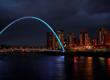 The Tyne at night by biffobear, photography->bridges gallery