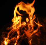 Lady in the Fire by OutdoorsGuy, photography->fire gallery