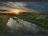 Wetlands at Dusk by Zyrogerg, Photography->Sunset/Rise gallery