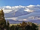 Mt. Sopris on Canvas by fotobob, Photography->Manipulation gallery