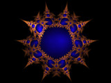 Blue Mine by ianmacappin, Abstract->Fractal gallery