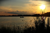 Day's End On Winona Lake by tigger3, photography->sunset/rise gallery