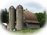 Silos and barn by Starglow, photography->general gallery