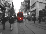 The Nostalgical Tram of Istıklal street by cemkarahan, Photography->Trains/Trams gallery