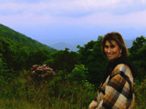 My Jenni Enjoying The View From On High by connodado, Photography->Mountains gallery