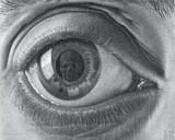 Escher 2 by MC Escher, Illustrations->Traditional gallery