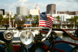 American Flag On a Vintage Bike by maxwell299, Photography->Transportation gallery