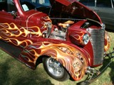 Skulls and flames by BarnArt, Photography->Cars gallery