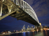 Sydney Bridge At Night by r0bbyr0b, Photography->Bridges gallery