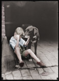 Boy and his dog by rvdb, photography->manipulation gallery