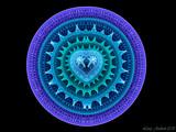Heart Trivet by razorjack51, Abstract->Fractal gallery