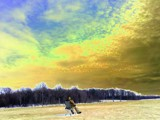 Ice Fishing Skies by stormycindy, abstract->Surrealism gallery