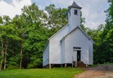 The Old Cades Cove Missionary Baptist Church by bfrank, photography->places of worship gallery