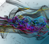 Painted Smoke by RebeccaL, abstract gallery