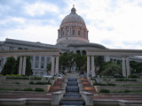 Missouri State Capitol - North Face by Hottrockin, Photography->City gallery
