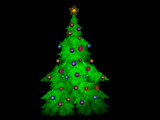 My Apophysis Christmas Tree by razorjack51, Abstract->Fractal gallery