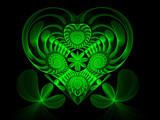 Heart O' The Irish by razorjack51, Abstract->Fractal gallery