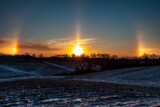 Sundogs at Sunrise, December 24, 2020 by Mitsubishiman, photography->sunset/rise gallery