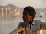 Rowing on the Ganges in Varanasi by silicon, Photography->People gallery