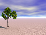 Lone Tree by timw4mail, Computer->3D gallery