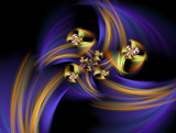 Flowers in The Wind by jswgpb, Abstract->Fractal gallery