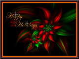 Happy Holidays by chu99g, Abstract->Fractal gallery