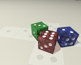 Dice Infestation by caedes, Computer->3D gallery