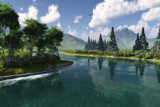 Pacific River by fog76, Computer->Landscape gallery