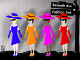 Fashionista - Manhattan Chic 17 by Jhihmoac, Illustrations->Digital gallery