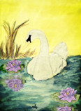 Swan Pond by bfrank, illustrations gallery