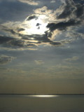 Sun on Lake Pontchartrain by ccmerino, Photography->Skies gallery