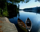 Algonquin Park Canoes (original) by mesmerized, photography->water gallery