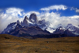 Cerro Fitz Roy with Clouds by jeenie11, photography->landscape gallery