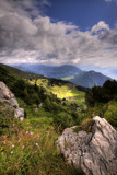 Downhill [HDR] by boremachine, Photography->Mountains gallery