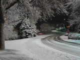Snowy Campus - Winding Road by Voelker2k, photography->landscape gallery