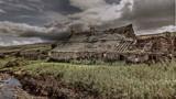 Wolf Cleugh Farm.... by biffobear, photography->castles/ruins gallery