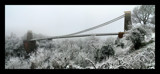 Clifton Suspension Bridge in snow by Mannie3, photography->bridges gallery