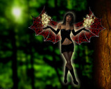 Goth Faerie No.1 by artytoit, computer gallery