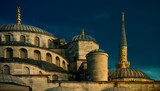 Half Dome - Blue Mosque Istanbul. by Mythmaker, photography->places of worship gallery